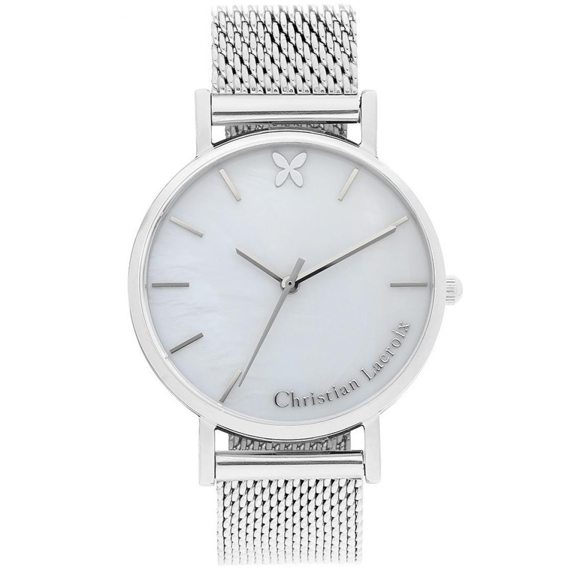 Montres Christian Clfh1805 Lacroix Milanais Montre Acier Bracelet WDHY9eE2I