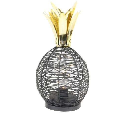 3S. x Home - Lampe à Poser Ananas Noir LOANE - Lampe