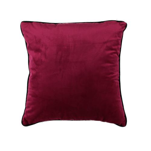 Coussin Velours Rouge LAKSELV