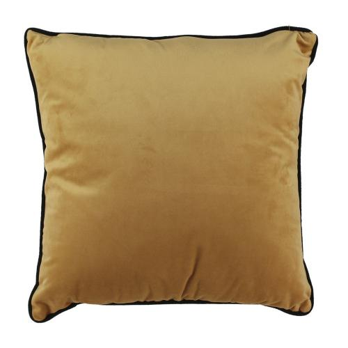 3 SUISSES - Coussin Velours Jaune LAKSELV - Promotions