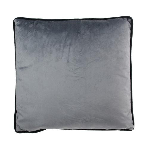 3S. x Home - Coussin Velours Gris LAKSELV - Coussins