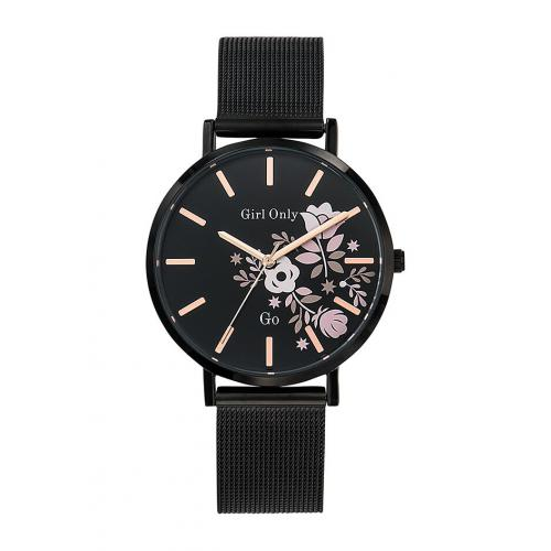 Go Girl Only - Montre Go Girl Only 695912 - Montre Acier Noir Femme