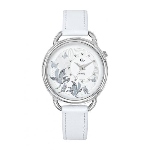 Go Girl Only - Montre Go Girl Only 699160 - Montre Cuir Blanc Femme