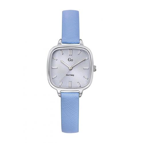 Go Girl Only - Montre Go Girl Only 699191 - Montre Cuir Bleu Femme