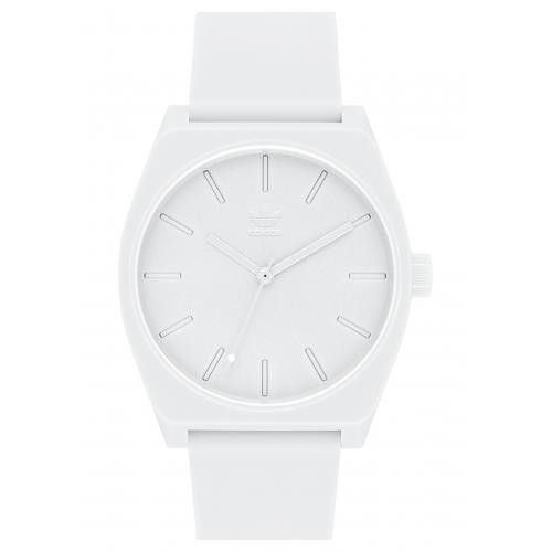 Adidas Watches - Montre Adidas Z10-126-00 - Montre Silicone Blanc Homme - Adidas Originals Montres