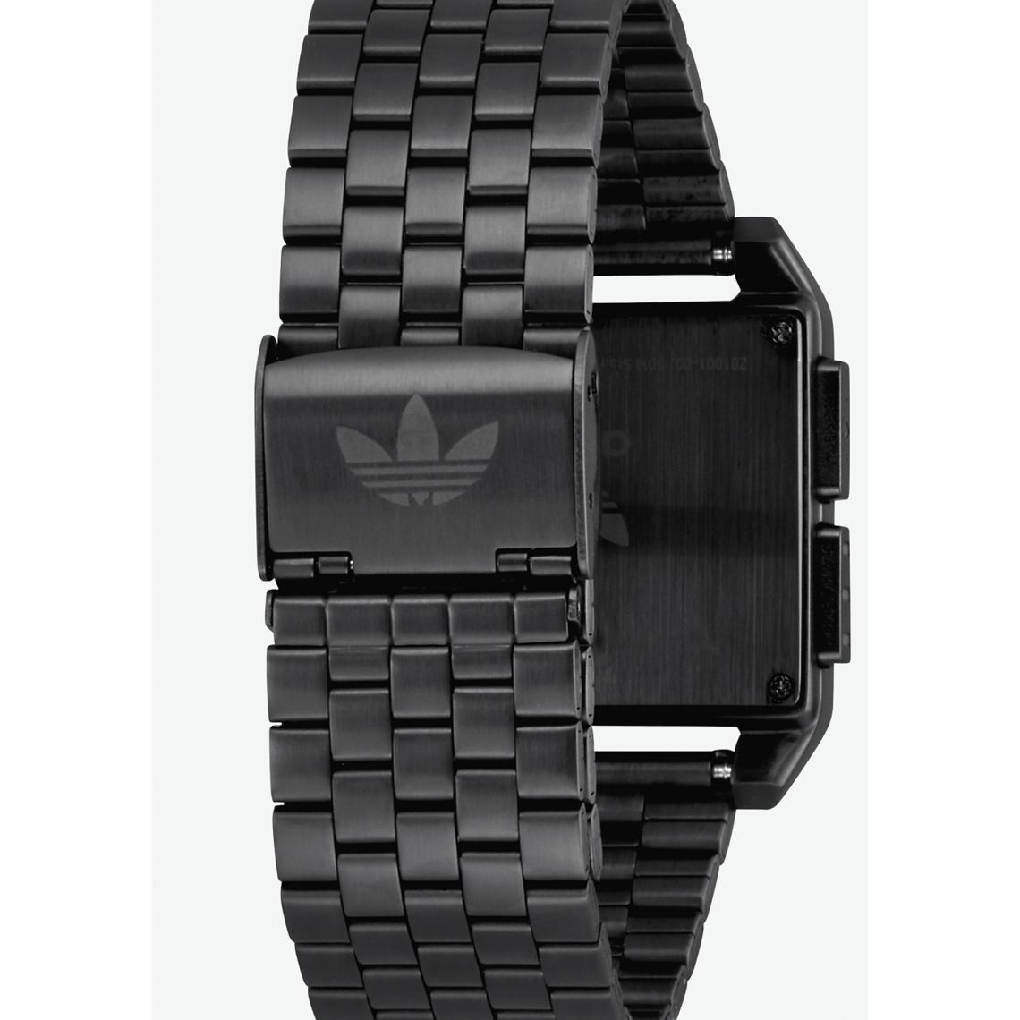 00 Noir Z01 Adidas 001 Montre Acier Originals J31Tl5cuKF