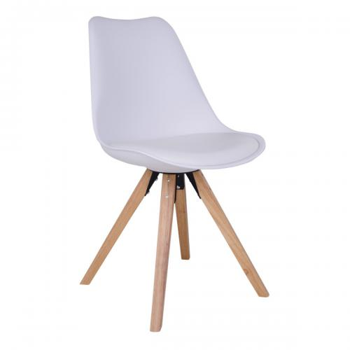 House Nordic - Chaise Blanc/Naturel BERGEN - House Nordic