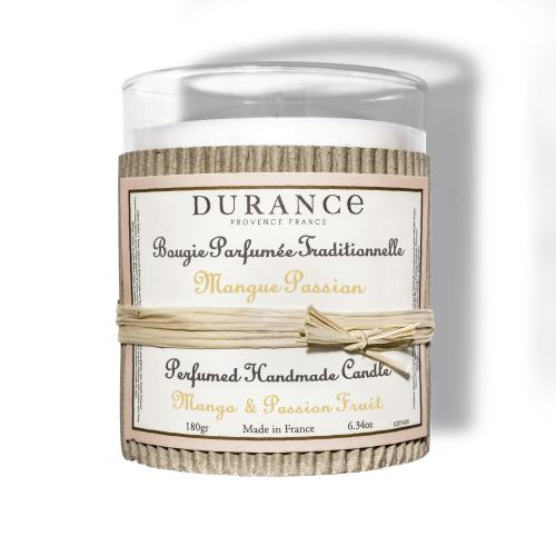 Durance - Bougie parfumée traditionnelle Mangue Passion - Durance