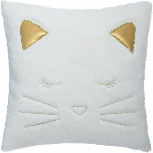 3S. x Home - Coussin Fake Fur Chat - Décoration enfant