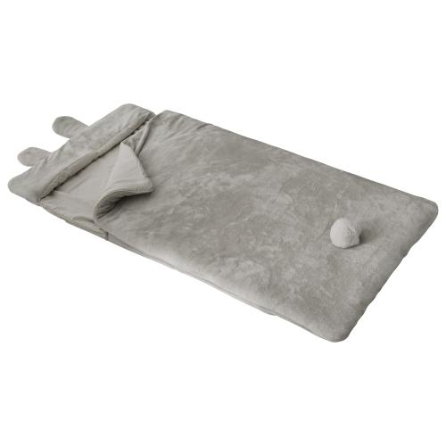 3S. x Home - Sac Couchage Lapin Gris - Chambre enfant