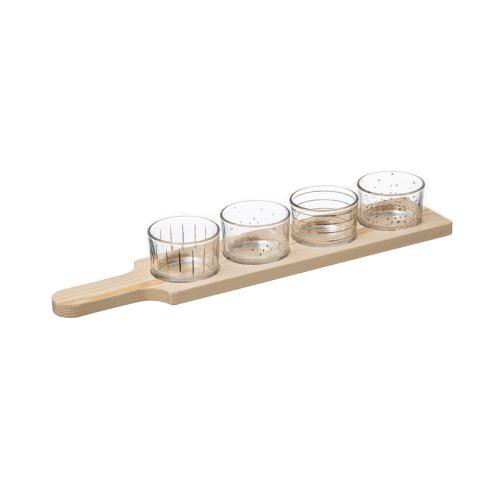 3S. x Home - Set Aperitif Pin Ora 5P - Verre