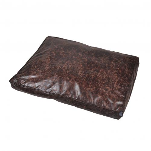 3S. x Home - Coussin Rectangle Chesterfield Chocolat - Meuble & Déco