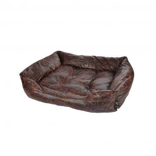 3S. x Home - Panier Rectangle Chesterfield Chocolat - Meuble & Déco