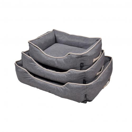 3S. x Home - Set De 3 Paniers Rectangle Marina Gris - Meuble & Déco