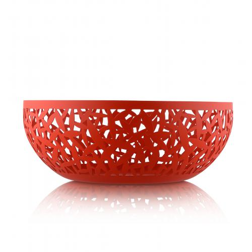 Alessi - Coupe à Fruits CACTUS Rouge - Corbeille