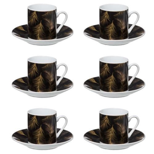 3S. x Home - Coffret 6 Tasses Lady Jungle 9CL - Meuble & Déco