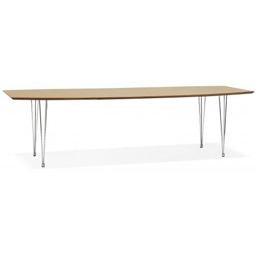 3S. x Home - Table KEYLA 2,7m Beige - Table salle à manger