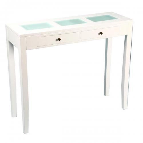 3S. x Home - Table Console NYA Blanche - 3S. x Home meuble & déco