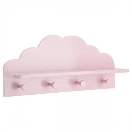 3S. x Home - Patère Nuage DREAM Rose - Porte-Manteau, patères