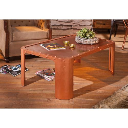 3S. x Home - Table Basse GORMUR Cuivre - Table basse