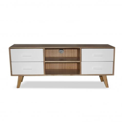 3S. x Home - Console TV Nordique LOVA - Meuble TV