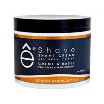 E Shave - SHAVE CREAM Crème à Raser Orange & Bois de Santal