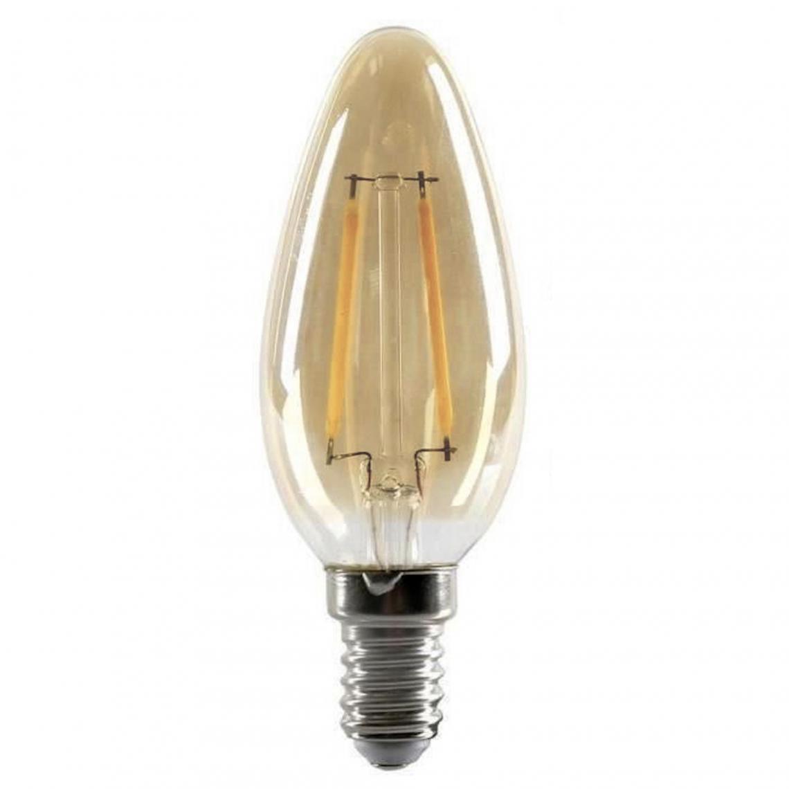 Ampoule LED Rétro Flamme 2W h,9,8 Dimmable LYS