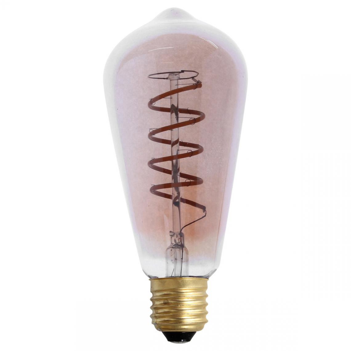 Promo : Ampoule LED Rétro Verre Ambré 4W Dimmable TONNY