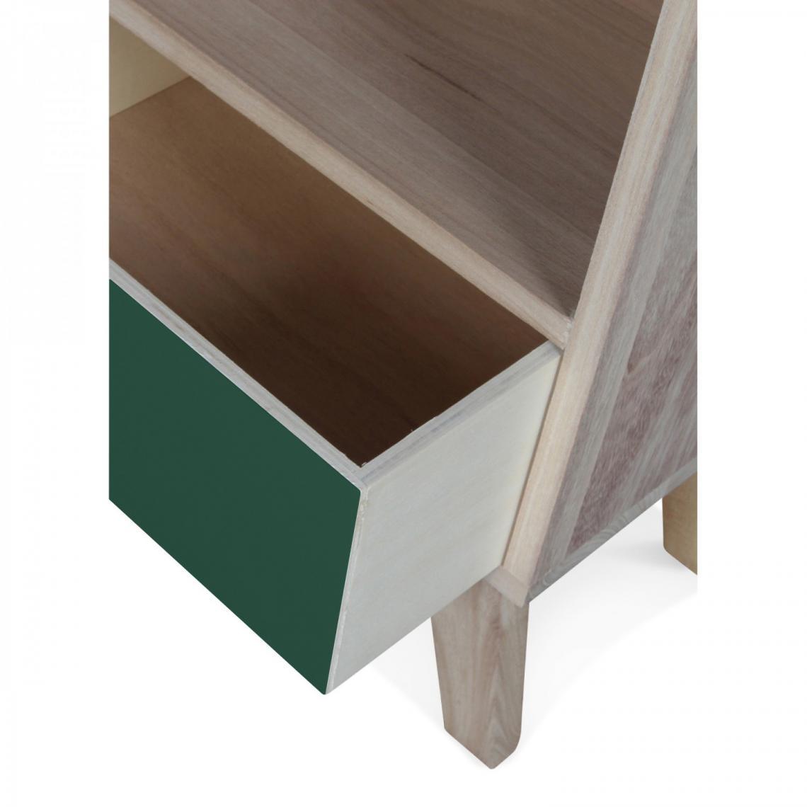 Table de Chevet Bois Vert MONTREAL | 3 SUISSES