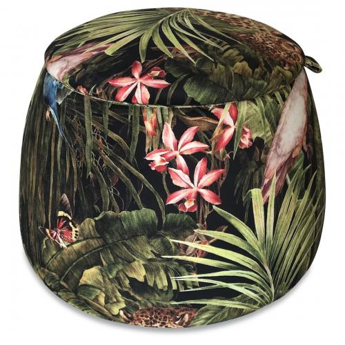 Pouf Coffre Jungle FLORENTIN