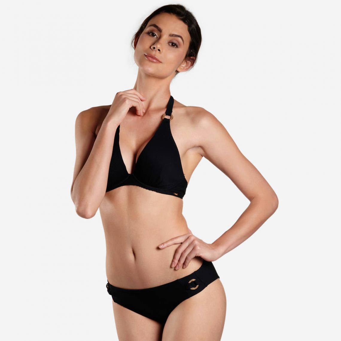 f343b5c816 Culotte de bain brésilienne noire Aubade Maillots Femme