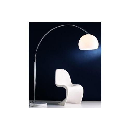 3S. x Home - Lampadaire Arc Design Blanc Small - Meuble & Déco