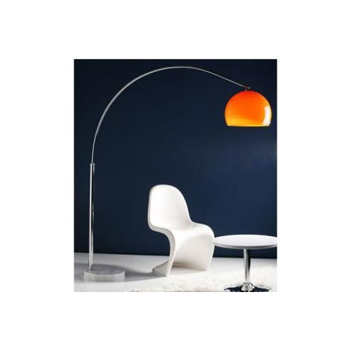 3S. x Home - Lampadaire Arc Design Orange Small - Meuble & Déco