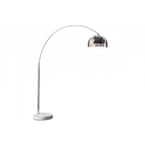 3 SUISSES - Lampadaire Arc XL chrome - Lampadaire