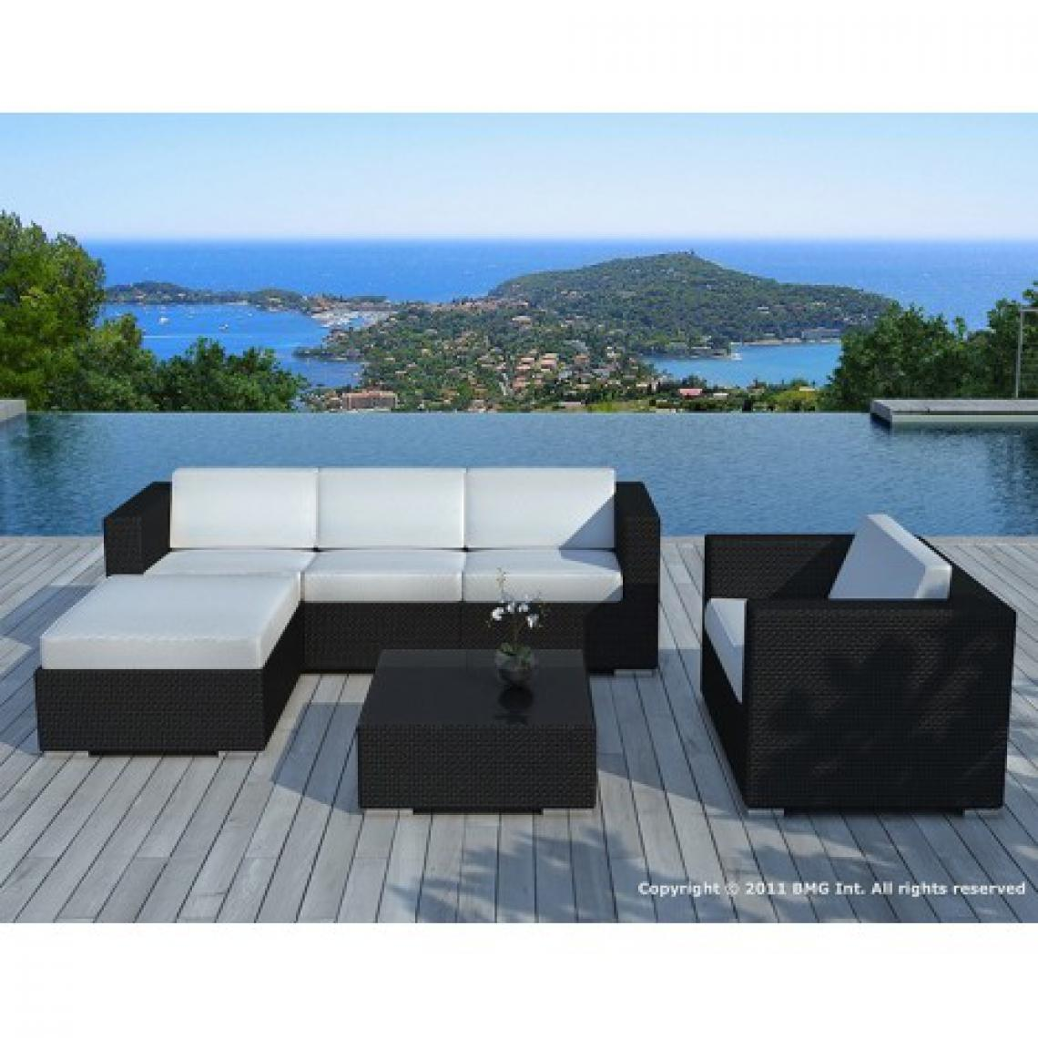 LOT DE 2 TABOURETS DE BAR BLUE LAGOON - BLANC 85777 85779