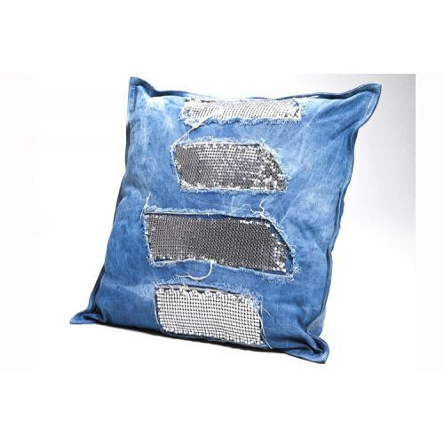 Kare Design - Coussin Jeans Glams 45X45 - Coussins