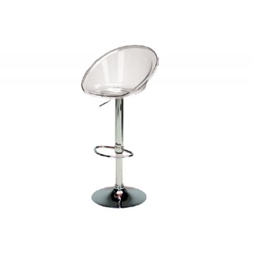 3S. x Home - Tabouret De Bar Design Transparent ROMA - Meuble & Déco