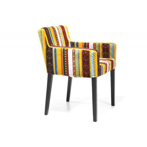 Kare Design - Fauteuil coloré style british Britany - Collection ethnique meuble deco