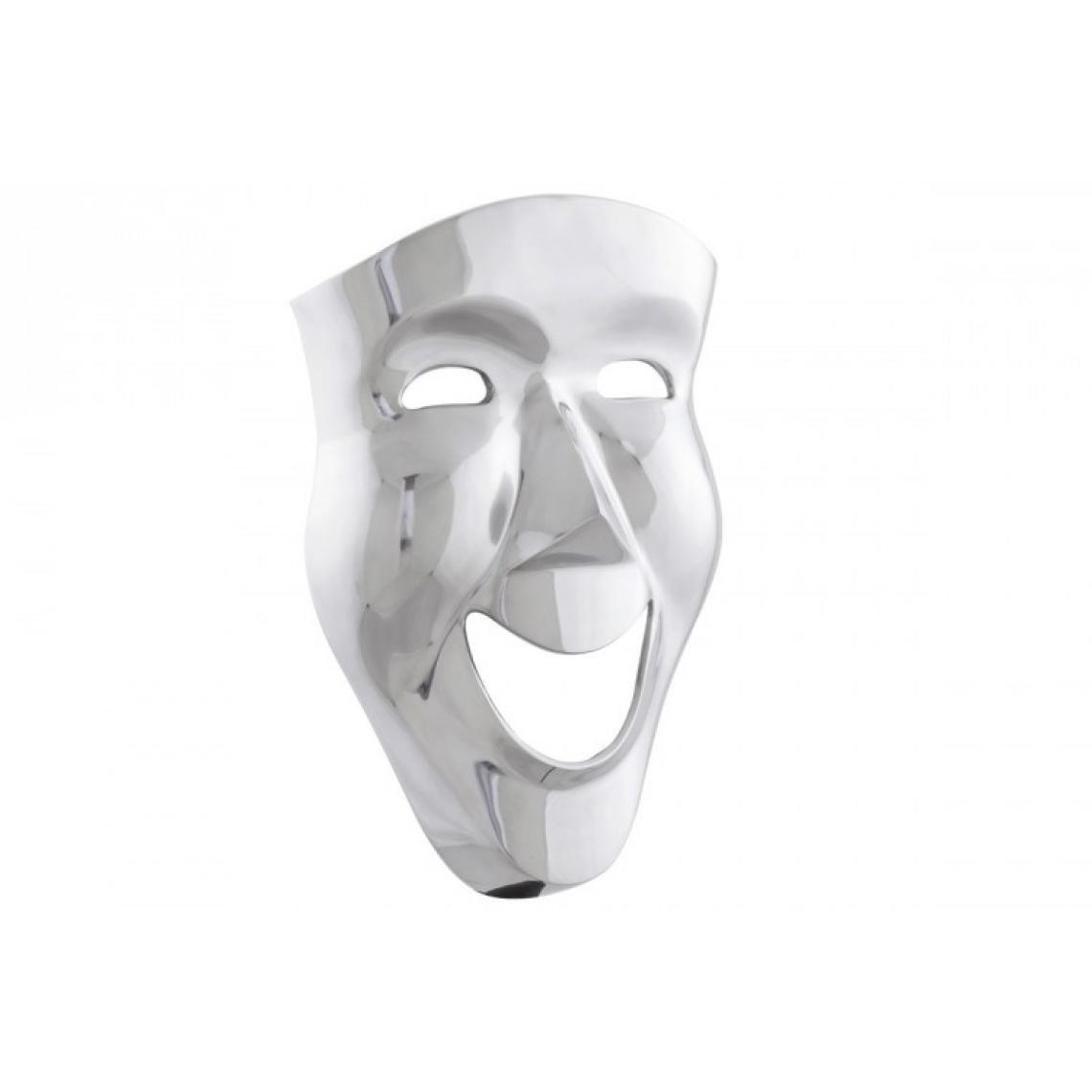 Masque Mural et décoratif en Alu Venise 31x14x46