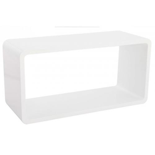 3S. x Home - Table basse blanc Laquée EMILY - Table basse