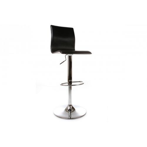 3S. x Home - Tabouret réglable Noir design KINGS - Chaise, tabouret, banc