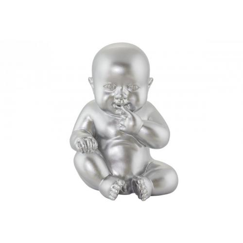 3S. x Home - Statue little baby argent - Sélection meuble & déco Intemporel