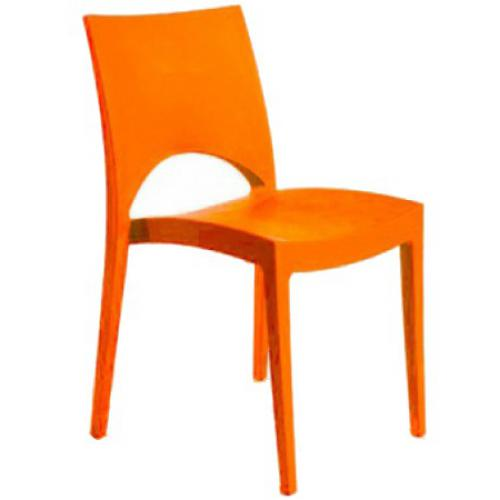 3S. x Home - Chaise Design Orange POLO - Chaise