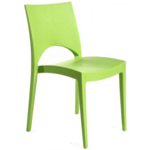 3S. x Home - Chaise Design Verte Pomme POLO - Chaise
