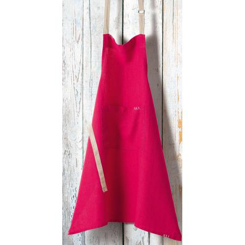 3S. x Home - Tablier en Lin WINNY- Fushia - Linge de table