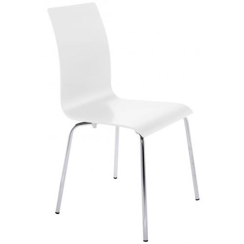 3S. x Home - Chaise Blanche MATTHEW - Chaise