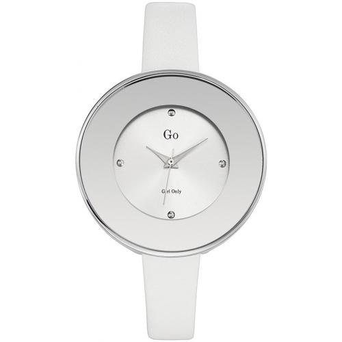 Go Girl Only - Montre Go 698165 - Montre Grise Mode Cuir Femme