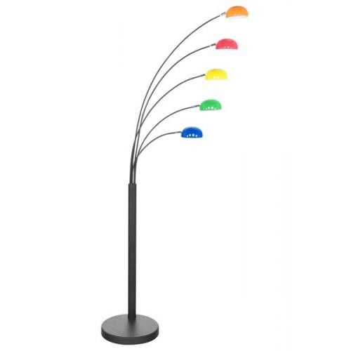 3S. x Home - Lampadaire 5 branches multicolore LAROCHE - Sélection meuble & déco Intemporel