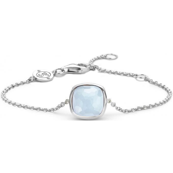 bas prix 12c80 82b98 Bracelet Ti Sento 2802LB - Bracelet Argent Pierre Bleue Femme Réf :  Ti55600-0000