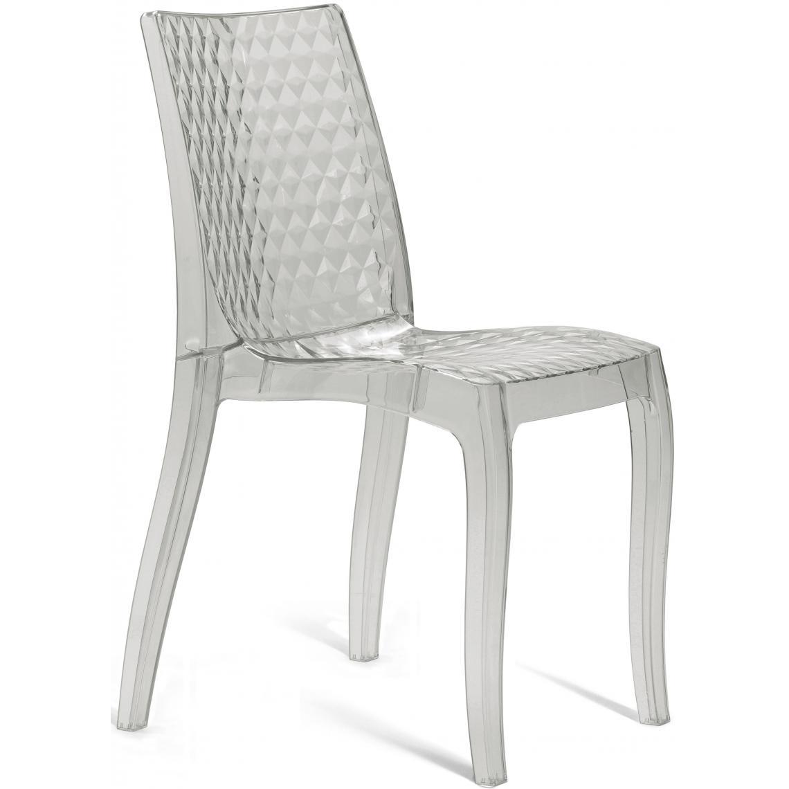 chaise design transparente delphes 3 suisses. Black Bedroom Furniture Sets. Home Design Ideas